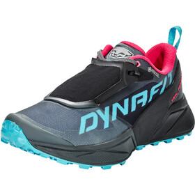 Dynafit Ultra 100 GTX Shoes Women, black out/flamingo